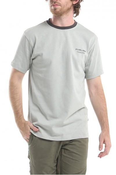 Publish - Men's Luth Short Sleeves Knit Shirt - Grey