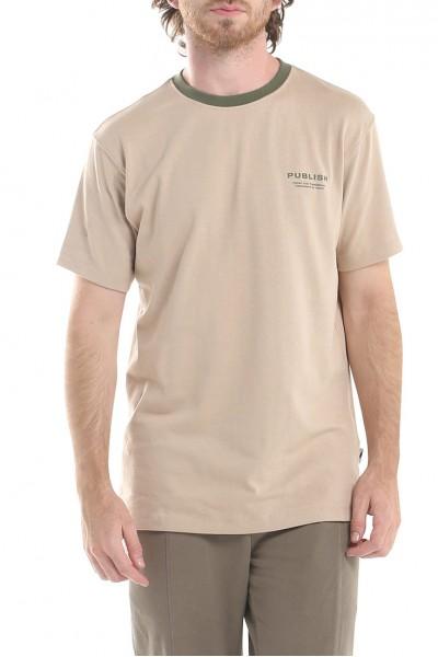 Publish - Men's Luth Short Sleeves Knit Shirt - Tan