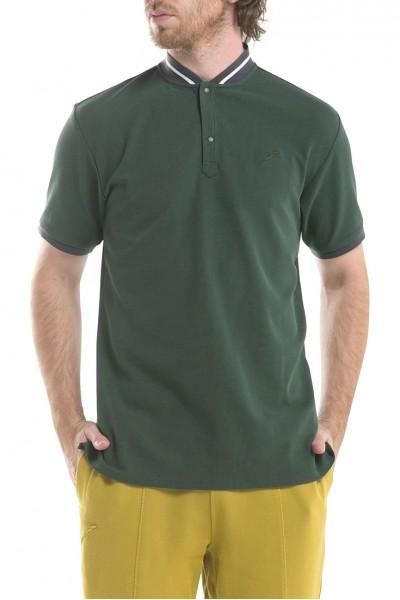 Publish - Men's Osmond Short Sleeves Knit Shirt - Olive