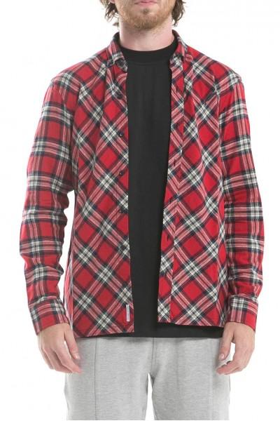 Publish - Men's Chet Long Sleeve Shirt - Red