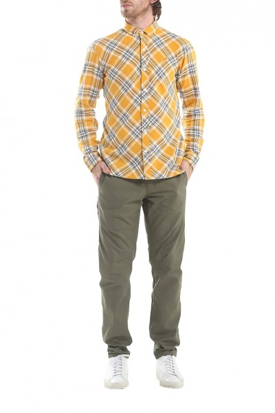 Publish - Men's Chet Long Sleeve Shirt - Yellow