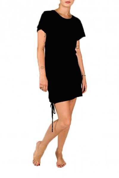 LNA - Women's Josie Cotton Dress - Black