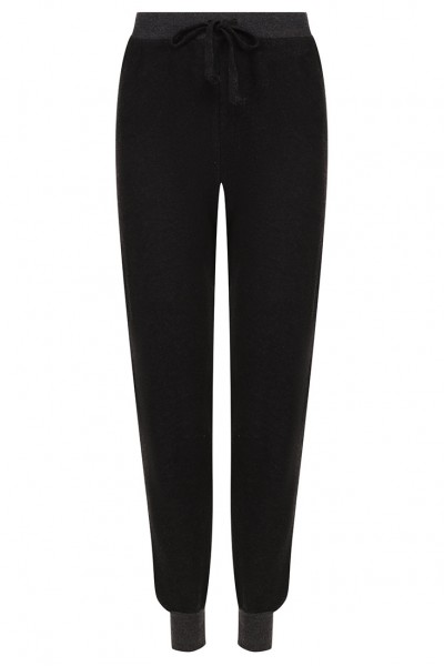 Wildfox  -Women's Solid Sweatpant - Black