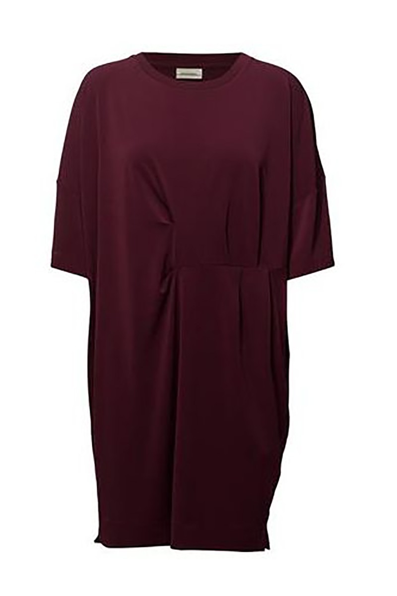 By Malene Birger - Women's Hannii Dress - Deep Ruby