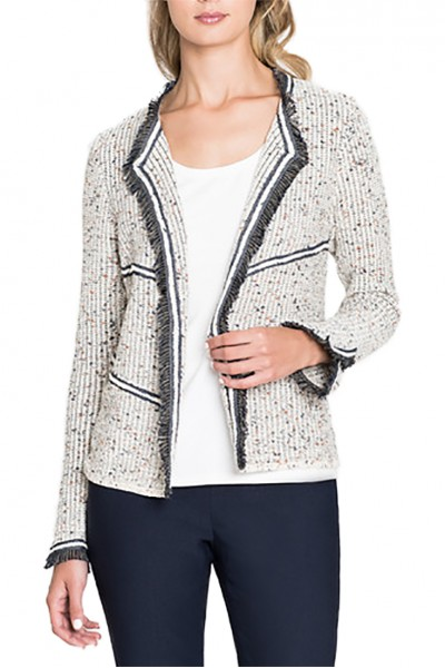 Nic+Zoe - Women's Angles Cardy - Almond Mix