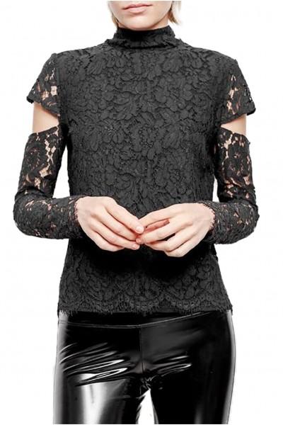 Generation Love - Women's Ivy Lace Top - Black