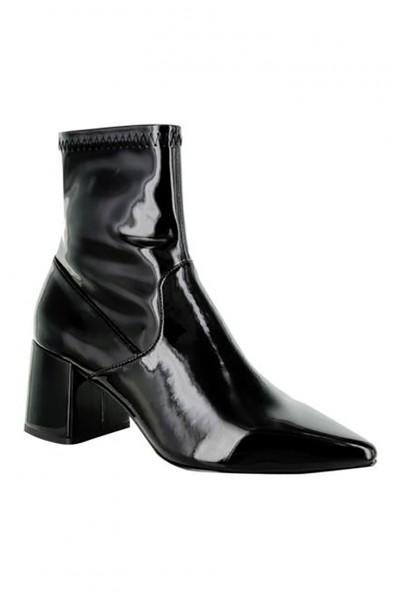 Senso - Women's Simone Patent Boots - Ebony