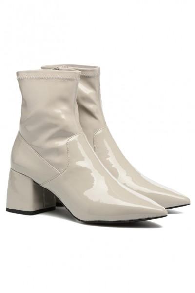 Senso - Women's Simone Patent Boots - Stone