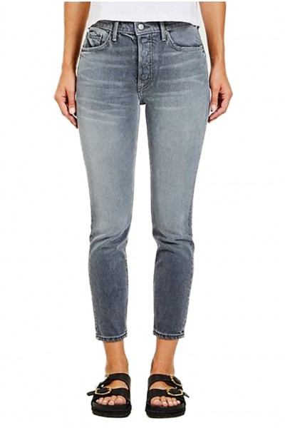 Grlfrnd - Women's Karolina High Rise Tapered Slim Fit Jean - You Got Me