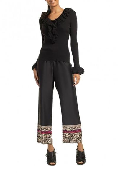 Trina Turk - Women's Quill 2 Sweater - Black