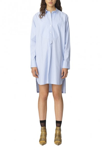 By Malene Birger - Women's Samfa Dress - Pastel Blue
