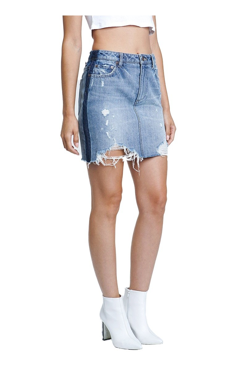 Pistola - Women's Charlie High Rise Straight Leg Jean - City Limits