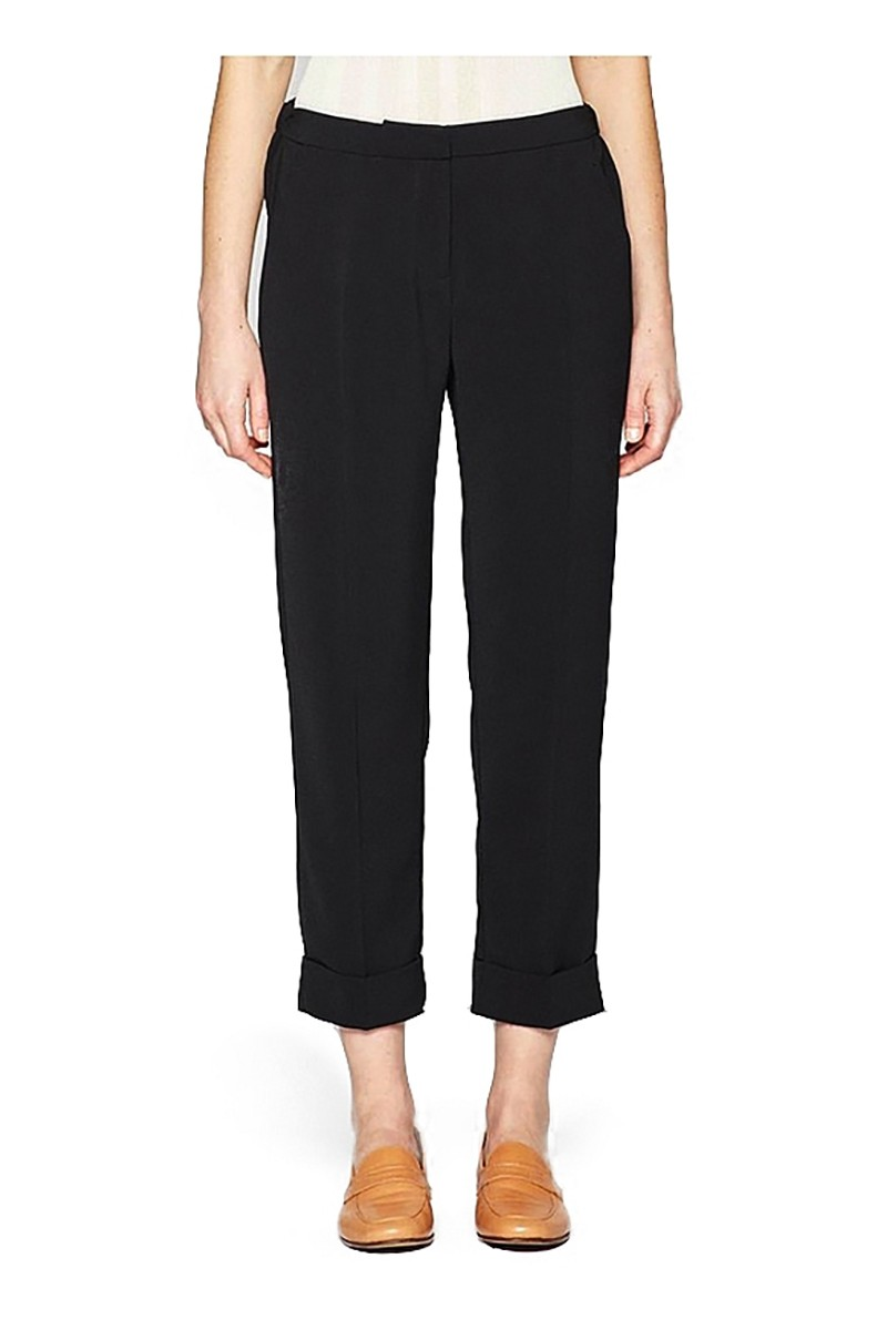 Brochu Walker - Women's Strand Layered Pullover- Dark Charcoal White