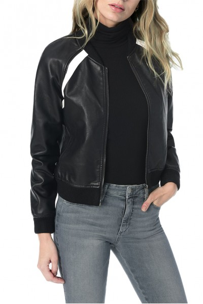 Joe's - Women's Paola Bomber Jacket - Black