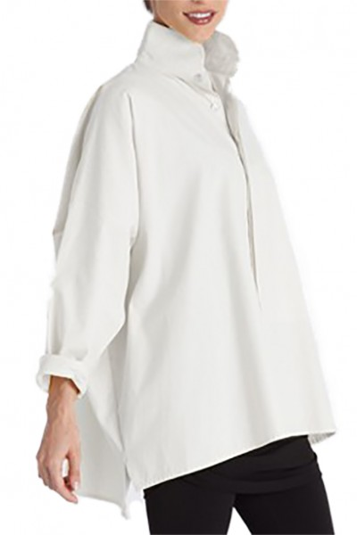 Planet - Women's Signature Rib Shirt - White
