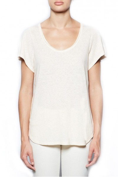 Brochu Walker - Women's Ley Tee - Pearl