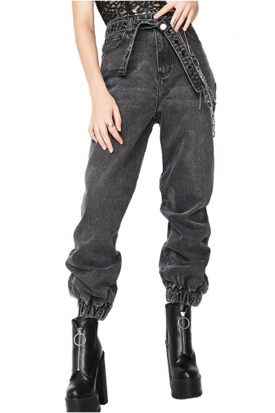 Neon Blonde - Women's Courtney Jean - Black Valentine