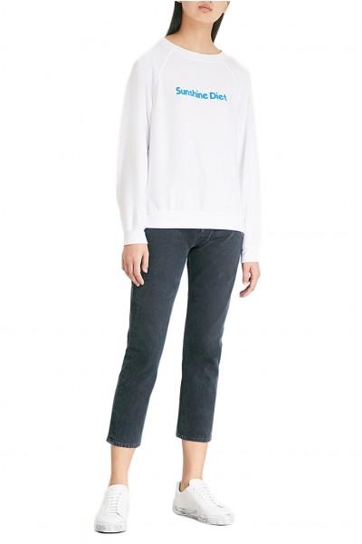 Wildfox - Women's  Sunshine Diet Jersey Sweatshirt - Clean White