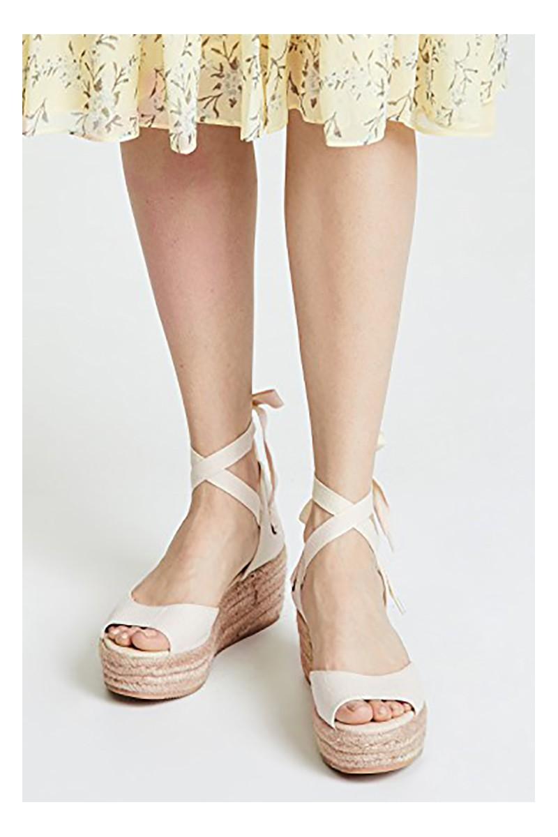 47aa18a4820 Soludos - Women's Open Toe Platform Slipper - Blush