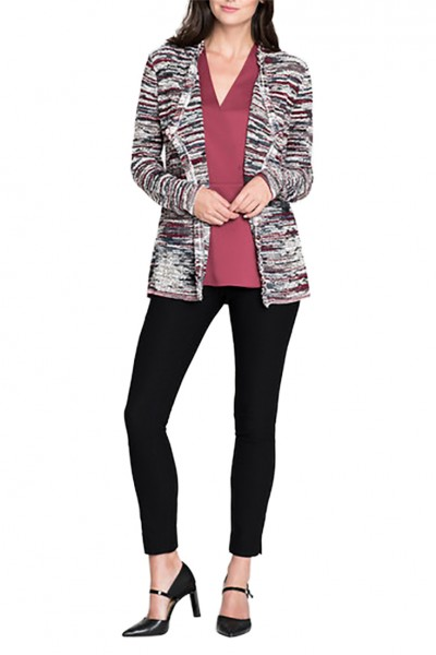 Nic+Zoe - Women's Polished Ease Cardy - Multi