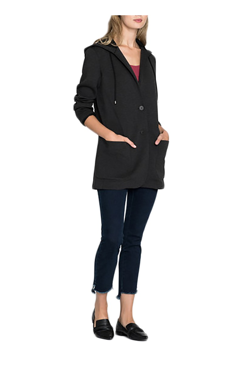 Nic+Zoe - Women's Get Going Graphite Jacket - Graphite Heathe