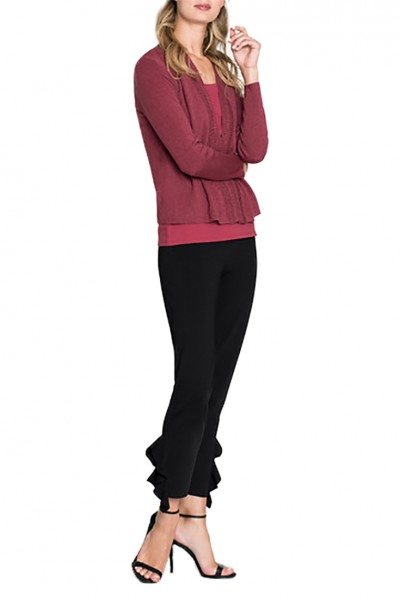 Nic+Zoe - Women's Enhance Cardy - Currant