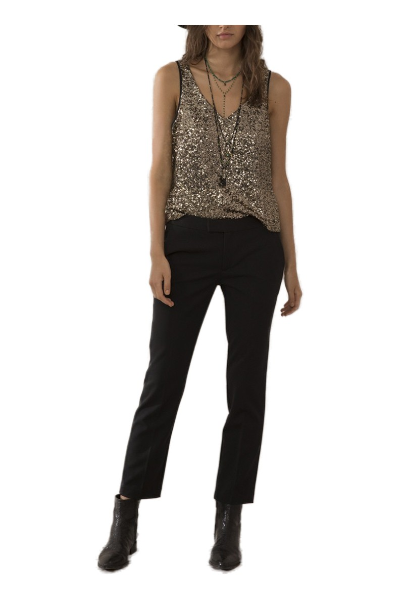 Sack's - Women's Andrea Straight Leg Pant - Black