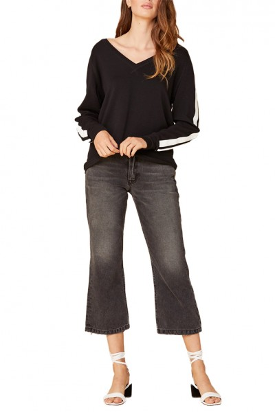 LNA - Women's Locker Sweatshirt - Black