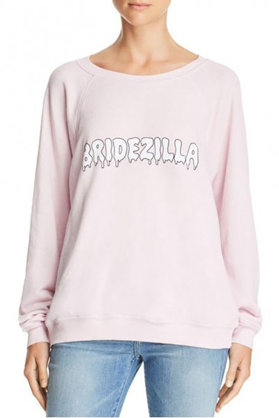 Wildfox - Women's Sommers Bridezilla Sweatshirt - Pouty Pink