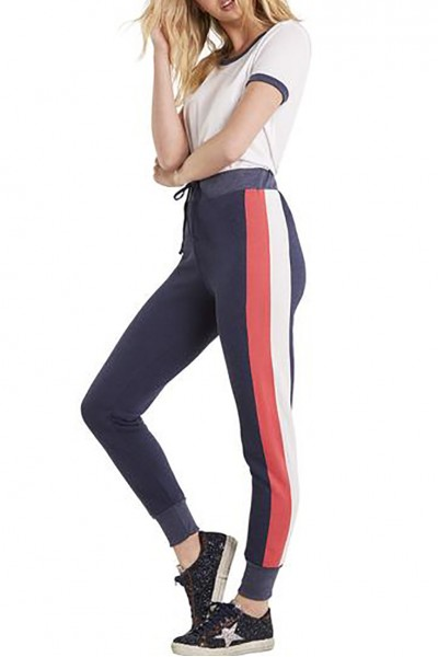Wildfox - Women's Varsity Stripe Jack Jogger - Oxford