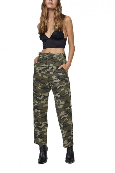 Pistola - Women's Phoenix High Rise Straight Leg Military Pant - Platoon