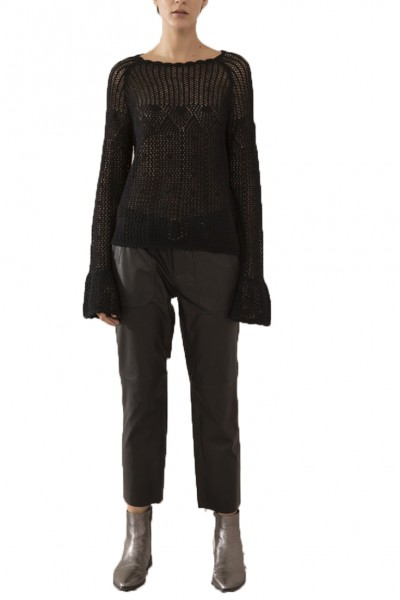 Sack's - Women's Lesile Turtleneck Blouse - Black