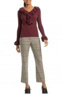 Trina Turk - Women's Quill 2 Sweater - Wine