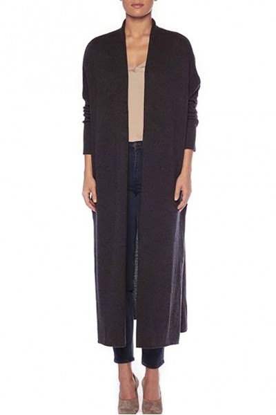Brochu Walker - Women's Orial Duster Cardigan - Charcoal