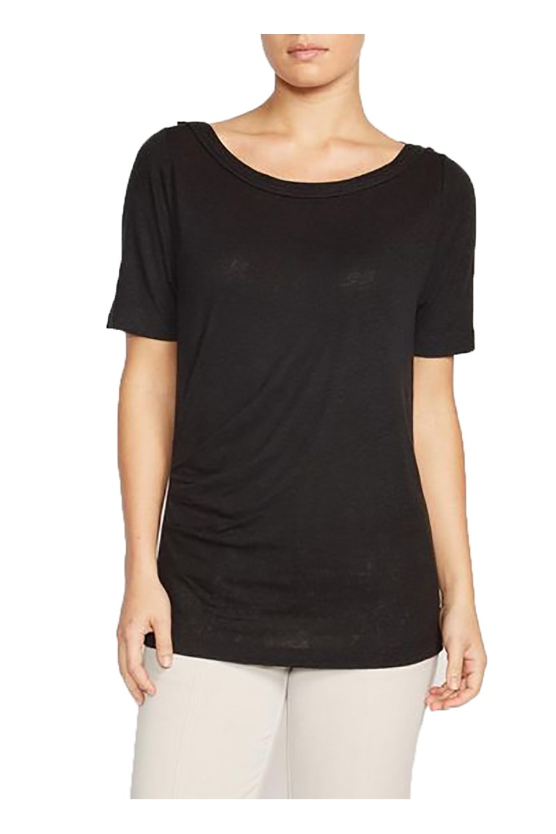 Brochu Walker - Women's Zoe Tee - Black Onyx