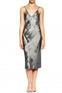 Brochu Walker - Women's Julep Slip Dress - Orbit Metal