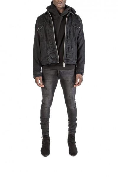 Kollar - Men's Jean Jacket - Black