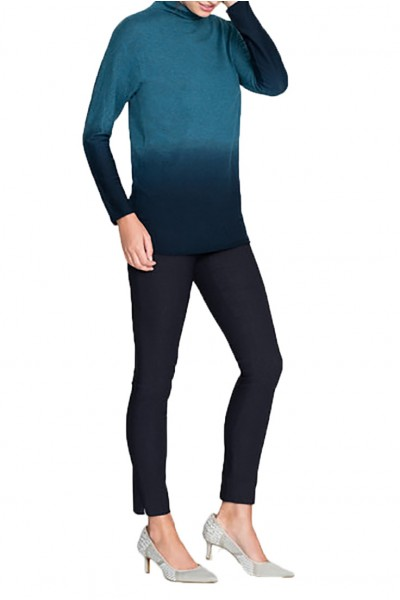 Nic+Zoe - Women's Traveler Turtleneck Sweater - Beryl