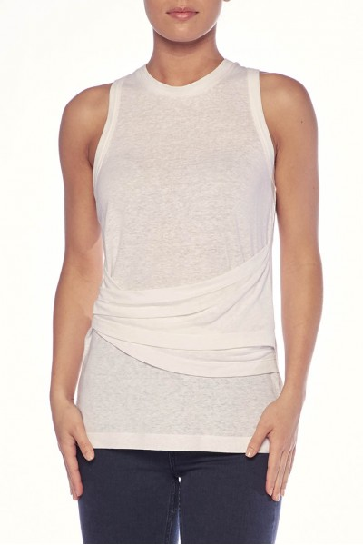 Brochu Walker - Women's Daine Tank - Salt White