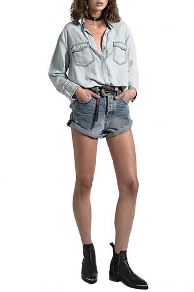 One Teaspoon - Women's Bandit High Waist Denim Short - Rocky