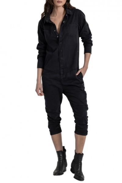 One Teaspoon - Women's Paradise Utility Jumpsuit - Black
