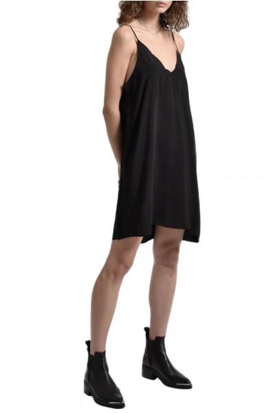 One Teaspoon - Women's Ringleader Slip Dress - Matt Black
