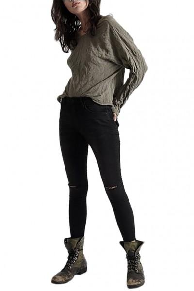 One Teaspoon - Women's High Waist Freebirds II High Waist Skinny Jean - Jett Black