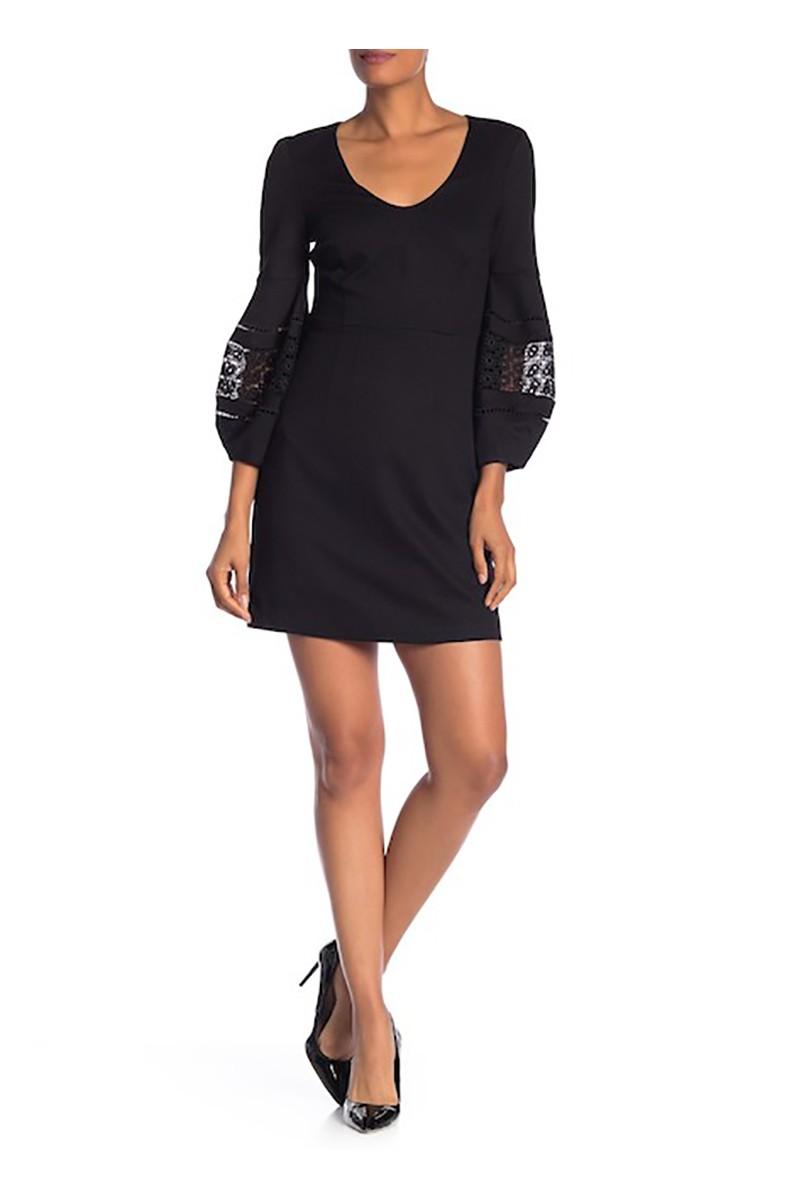 Trina Turk - FA18 - Women's Gianna Blouson Sleeve Dress - Black