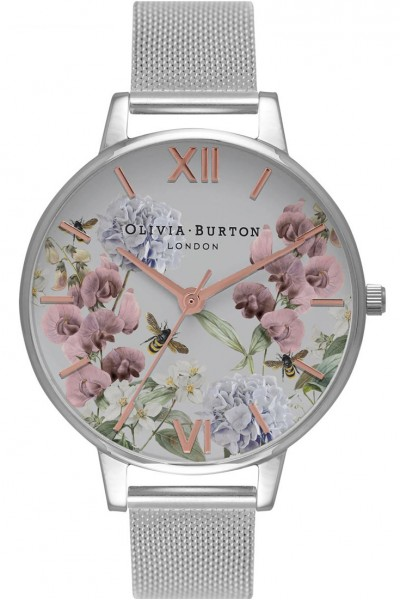 Olivia Burton - Women's Parlour Rose Gold & Silver Watch - MultiColour Silver