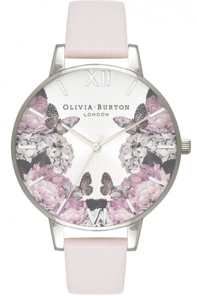 Olivia Burton - Women's Signature Florals Gold & Blush Watch - Black offwhite