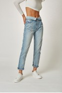 Pistola - RE18A - Nico Fold Over High Rise Fold Over Mom Pant - Obsession