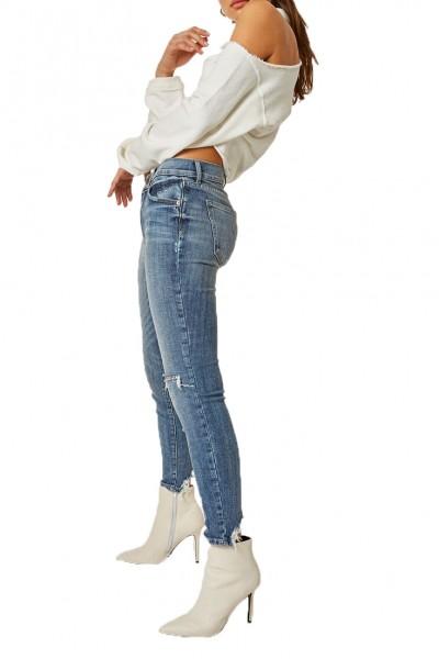 Pistola - Audrey Mid Rise Skinny Pant - Loyalty