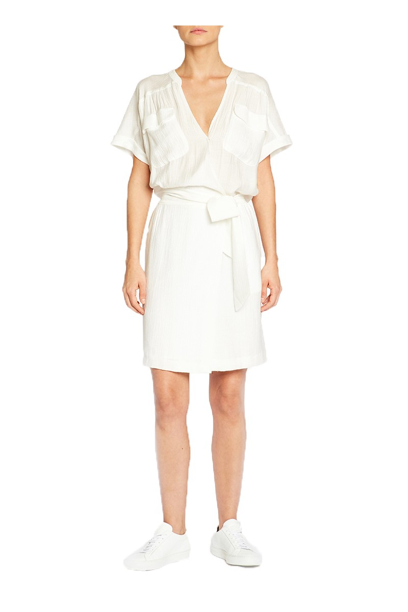 Brochu Walker - SP19C - Jas Dress - Salt White