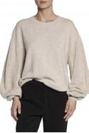 Brochu Walker - SP19A - Desy Crew Sweater - Almond Melange